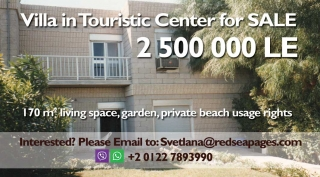 Villa in Touristic Center for Sale