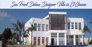 Sea Front Villa in El Gouna